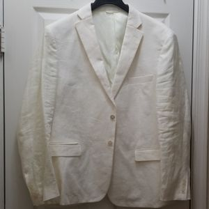 White Men's Blazer Ralph Lauren size 46R